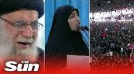 Soleimani's daughter threatens